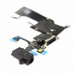 Nappe Connecteur de Charge noir+Jack+Micro iPhone 5