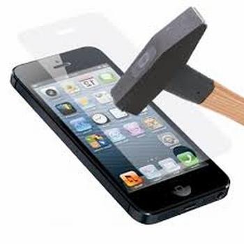 Protection d'ecran en verre trempé pour iPhone 4 et 4S
