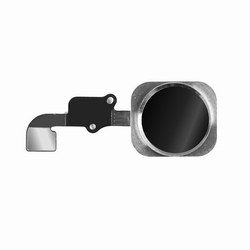 Nappe avec bouton home couleur noir pour iPhone 6