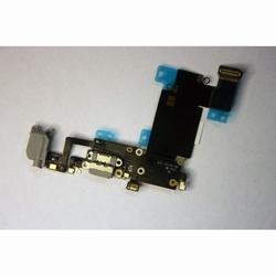 Dock de charge gris + prise jack et micro pour iphone 6S