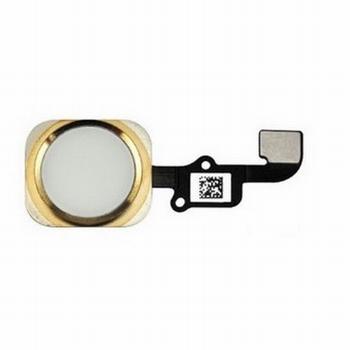 Nappe avec bouton home couleur or pour iPhone 6S et 6S+