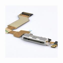 Nappe de charge blanc( dock)+ micro pour iPhone 4