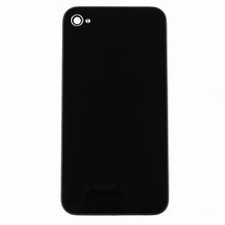 Vitre Arrière sur chassis noir sans logo pour iPhone 4S