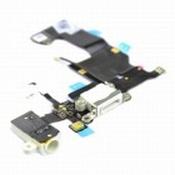 Nappe Connecteur de Charge blanc+Jack+Micro iPhone 5