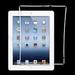 Cadre Joint Contour Vitre Tactile compatible iPad 2 Blanc