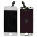 Vitre tactile blanc avec écran lcd pour iPhone 5S / SE