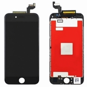 Vitre tactile noir avec écran LCD pour iPhone 6s