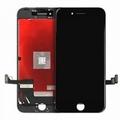Vitre tactile noir avec écran LCD pour iPhone 8